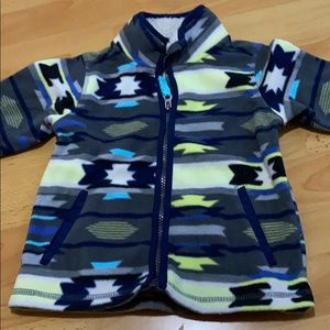 Boy fleece jacket
